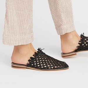 FREE PEOPLE Mirage Woven Mule - NEW